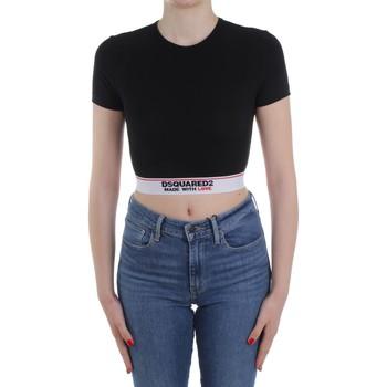 Îmbracaminte Femei Pulovere Dsquared2 Underwear D8M263470 Black