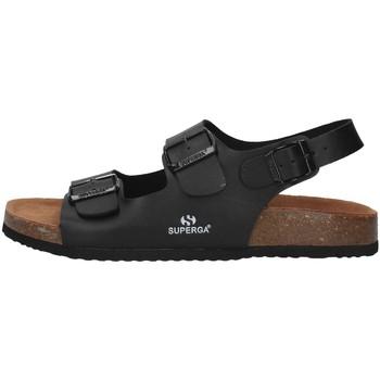 Pantofi Bărbați Sandale  Superga S11G046 BLACK
