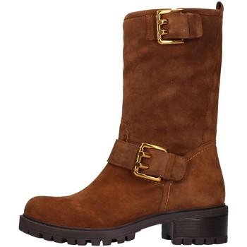 Pantofi Femei Cizme casual Albano 1211 BROWN