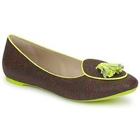 Pantofi Femei Balerin și Balerini cu curea Etro BALLERINE 3738 Maro