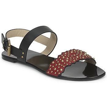 Încăltăminte Femei Sandale și Sandale cu talpă  joasă Etro SANDALE 3743 Negru