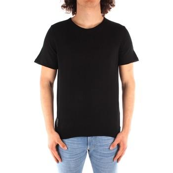 Îmbracaminte Bărbați Tricouri mânecă scurtă Blauer 21SBLUM01319 BLACK