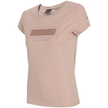 Îmbracaminte Femei Tricouri mânecă scurtă 4F TSD034 Roz
