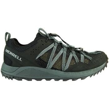 Pantofi Femei Pantofi sport Casual Merrell Wildwood Aerosport Negre, Gri