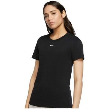 Îmbracaminte Femei Tricouri mânecă scurtă Nike Essential Tee Negre