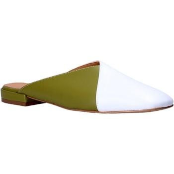 Pantofi Femei Saboti Grace Shoes 866003 Alb