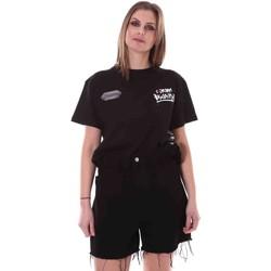 Îmbracaminte Femei Tricouri mânecă scurtă Disclaimer 21EDS50642 Negru