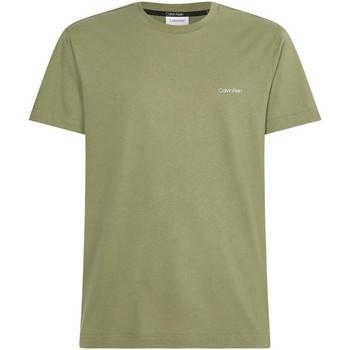 Îmbracaminte Bărbați Tricouri mânecă scurtă Calvin Klein Jeans K10K103307 Verde