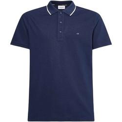 Îmbracaminte Bărbați Tricou Polo mânecă scurtă Calvin Klein Jeans K10K107211 Albastru
