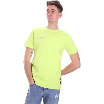 Îmbracaminte Bărbați Tricouri mânecă scurtă Disclaimer 21EDS50517 Verde
