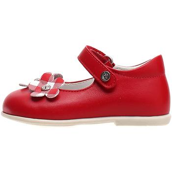 Pantofi Copii Balerin și Balerini cu curea Naturino 2015004 01 Roșu