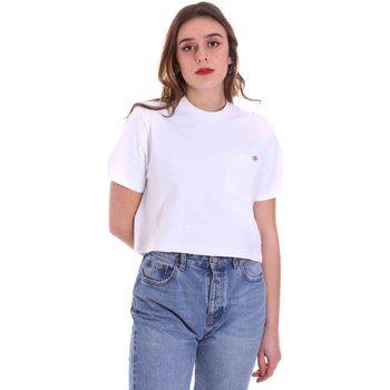 Îmbracaminte Femei Tricouri mânecă scurtă Dickies DK0A4XDEWHX1 Alb