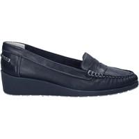 Pantofi Femei Mocasini Melluso 0250X Albastru
