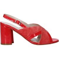 Pantofi Femei Sandale  Melluso HS530 Roșu