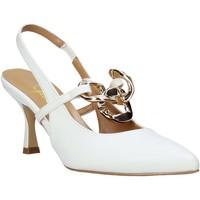 Pantofi Femei Sandale  Grace Shoes 057R059 Alb