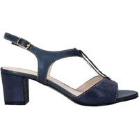 Pantofi Femei Sandale  Melluso HK95360 Albastru
