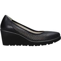 Pantofi Femei Balerin și Balerini cu curea Melluso R2510X Negru