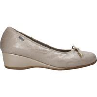 Pantofi Femei Balerin și Balerini cu curea Melluso H08123 Bej