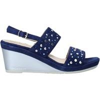 Pantofi Femei Sandale  Melluso HR70531 Albastru