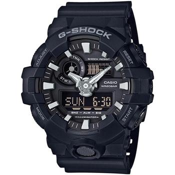 Ceasuri & Bijuterii Bărbați Ceasuri Analogice Casio GA-700-1BER, Quartz, 53mm, 20ATM Negru