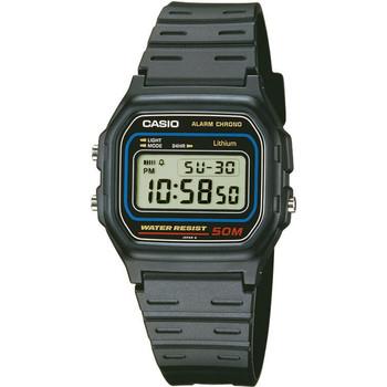 Ceasuri & Bijuterii Bărbați Ceasuri Digitale Casio W-59-1VQES, Quartz, 34mm, 5ATM Negru