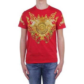 Îmbracaminte Bărbați Tricouri mânecă scurtă Versace Jeans Couture B3 GWA7S1S0274 Red