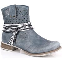 Pantofi Femei Botine Kimberfeel MARGOT Bleu