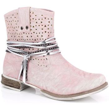 Pantofi Femei Botine Kimberfeel MARGOT Rose