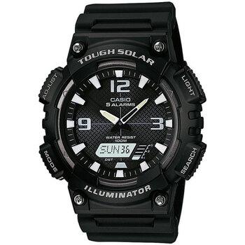 Ceasuri & Bijuterii Bărbați Cesuri Analogic- digital Casio AQ-S810W-1AVEF, Quartz, 46mm, 10ATM Negru