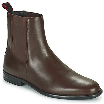Pantofi Bărbați Ghete HUGO KYRON CHEB Maro