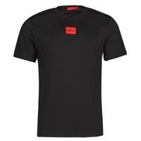 Îmbracaminte Bărbați Tricouri mânecă scurtă HUGO DIRAGOLINO Negru / Roșu