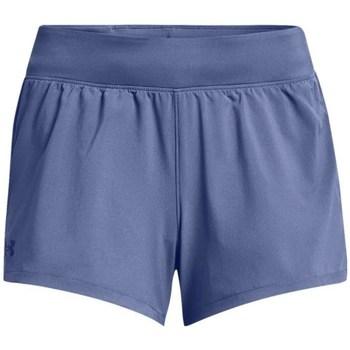 Îmbracaminte Femei Pantaloni  Under Armour Launch SW 3 Short Albastre