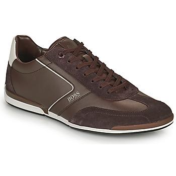 Pantofi Bărbați Pantofi sport Casual BOSS Saturn_Lowp_ltal Maro