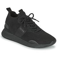Pantofi Bărbați Pantofi sport Casual BOSS TITANIUM RUNN KNST1 Negru