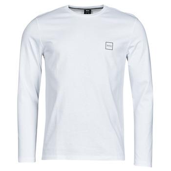 Îmbracaminte Bărbați Tricouri cu mânecă lungă  BOSS TACKS Alb