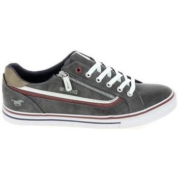 Pantofi Pantofi sport Casual Mustang Sneaker 4147301 Gris fonce Gri