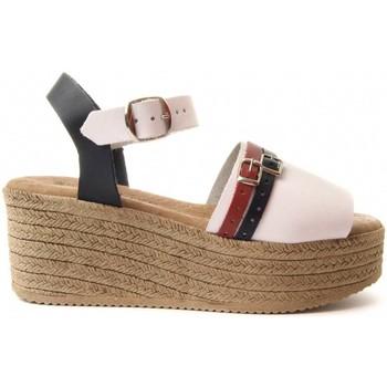 Pantofi Femei Sandale  Purapiel 70213 WHITE