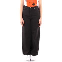 Îmbracaminte Femei Pantaloni fluizi și Pantaloni harem Roy Rogers P21RND091P3211755 BLACK