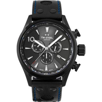 Ceasuri & Bijuterii Bărbați Ceasuri Analogice Tw-Steel SVS308, Quartz, 48mm, 10ATM Negru