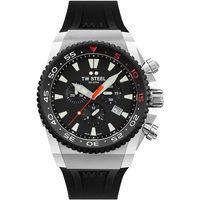 Ceasuri & Bijuterii Bărbați Ceasuri Analogice Tw-Steel ACE401, Quartz, 44mm, 30ATM Argintiu