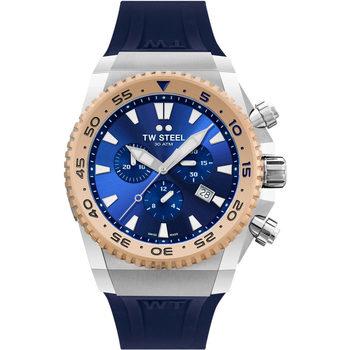 Ceasuri & Bijuterii Bărbați Ceasuri Analogice Tw-Steel ACE402, Quartz, 44mm, 30ATM Argintiu