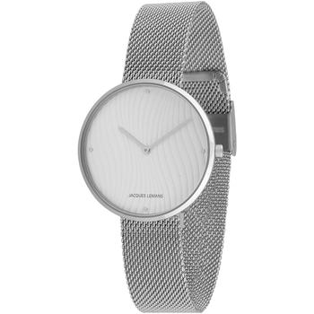 Ceasuri & Bijuterii Femei Ceasuri Analogice Jacques Lemans 1-2093G, Quartz, 36mm, 5ATM Argintiu
