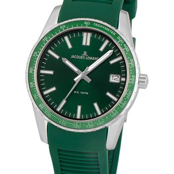 Ceasuri & Bijuterii Bărbați Ceasuri Analogice Jacques Lemans 1-2060D, Quartz, 39mm, 10ATM Argintiu