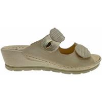 Pantofi Femei Papuci de vară Riposella RIP40925bei bianco