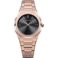 Ceasuri & Bijuterii Bărbați Ceasuri Analogice D1 Milano UTBL06, Quartz, 40mm, 5ATM Auriu