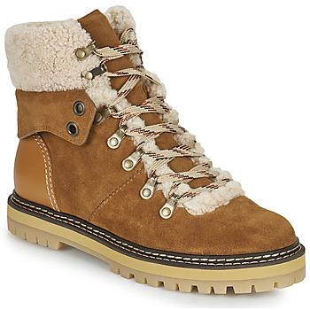 Pantofi Femei Cizme de zapadă See by Chloé EILEEN Camel