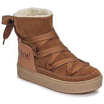 Pantofi Femei Cizme de zapadă See by Chloé CHARLEE Camel