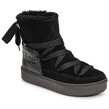 Pantofi Femei Cizme de zapadă See by Chloé CHARLEE Negru
