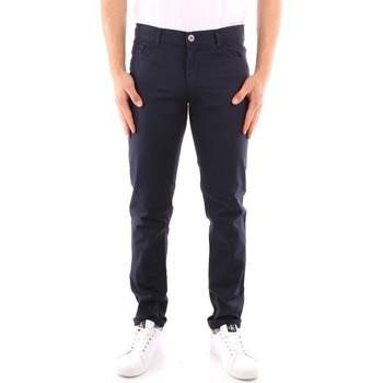 Îmbracaminte Bărbați Pantalon 5 buzunare Trussardi 52J00007 1Y000163 NAVY BLUE