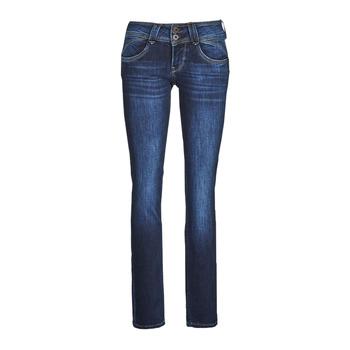 Îmbracaminte Femei Jeans drepti Pepe jeans NEW GEN Albastru / Brut / Dh3